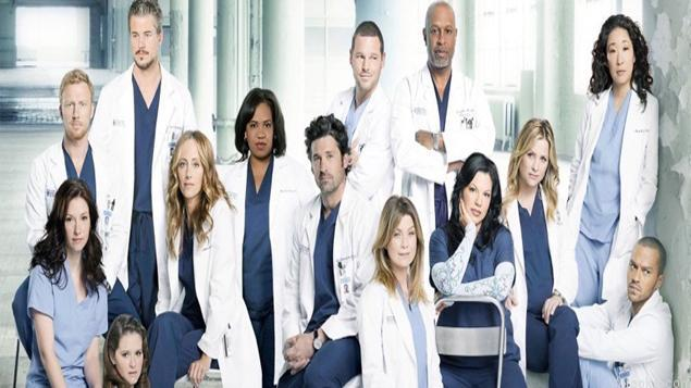 most popular tv series Grey's Anatomy