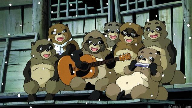 Studio Ghibli Movies Pom Poko