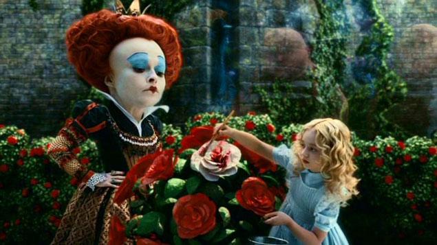 Tim Burton Movie Alice in Wonderland