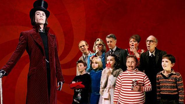 Tim Burton Movie Charlie and the Chocolate Factory