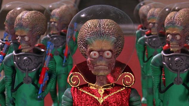 Tim Burton Movie Mars Attacks