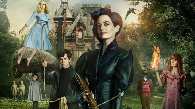 Tim Burton Movie Miss Peregrine's Home for Peculiar Children