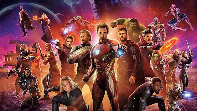 Top 25 Movie Avengers: Infinity War