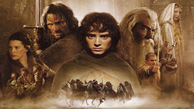 Top 25 Movie The lord of the rings: The fellowship of the ring