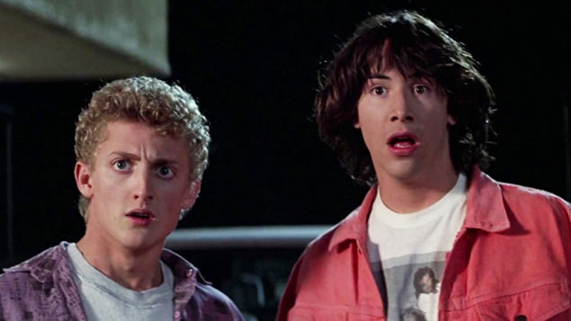 Top 50 Movie Bill & Ted's Excellent Adventure