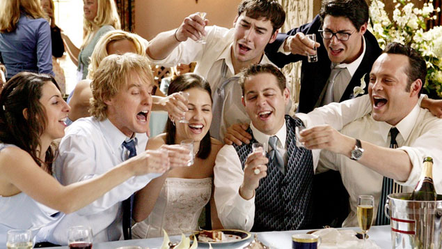 Top 50 Movie Wedding Crashers