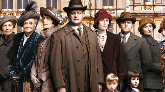Top 50 TV Series Downton Abbey