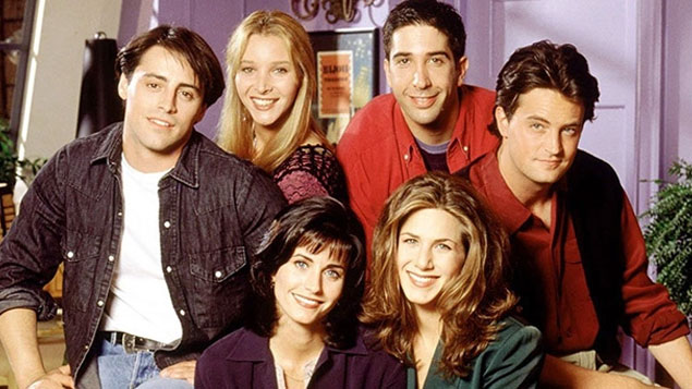 Top 50 TV Series Friends