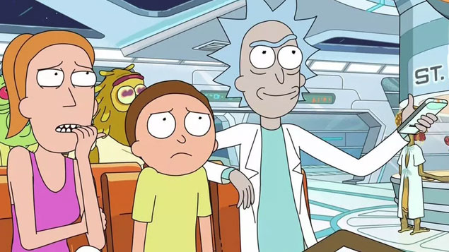 Top 50 TV Series Rick and Morty