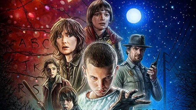 Top 50 TV Series Stranger Things