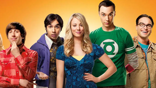 Top 50 TV Series The Big Bang Theory