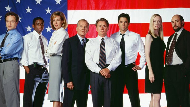 Top 50 TV Series The West Wing of the White House